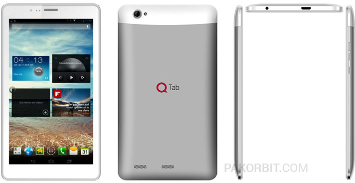 Qmobile introduces dual sim 7 inch tablet for Q tablet with price